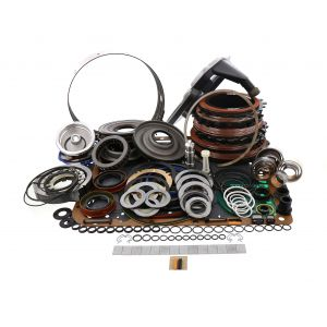 057907HPPWR_DLX_L2 (Deep) - 4L60E Transmission High Peformance Red Eagle Deluxe Rebuild Kit 97-03 Deep Pan