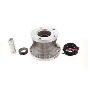 GVA205F - New Process 205 NP205 Transfer Case Ford Gear Vendors Adapter W/ Sleeve and Wiring