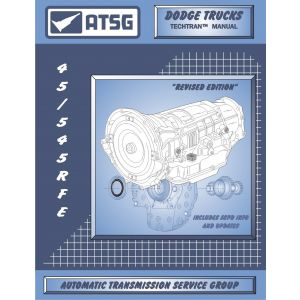 72400A - ATSG Dodge Jeep 45RFE 5-45RFE Transmission Rebuild Instruction Service Manual