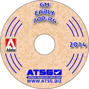 74400 - ATSG Chevy GM TH700R4 700R4 4L60 Transmission Rebuild Instruction Service Manual