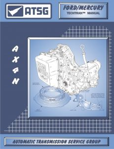 86400H - ATSG Ford AX4N 4F50N Transmission Rebuild Instruction Service Tech Manual