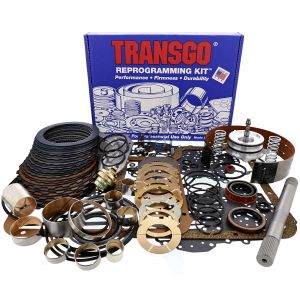 R36008BG2_L2 (67-1&2) (4WD) - Ford C6 Raybestos Blue G2 Performance Deluxe Transmission Transgo Kit 1976-96
